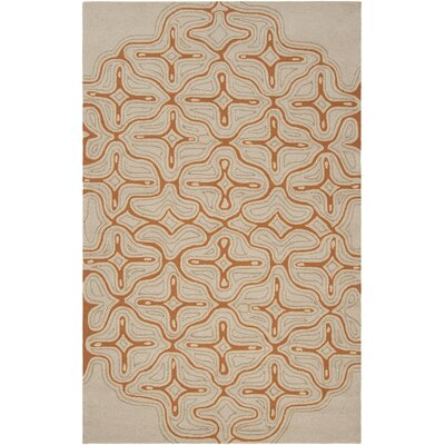 Braylen Hand-Hooked Olive/Red Indoor/Outdoor Area Rug Rug Size: 2' x 3'