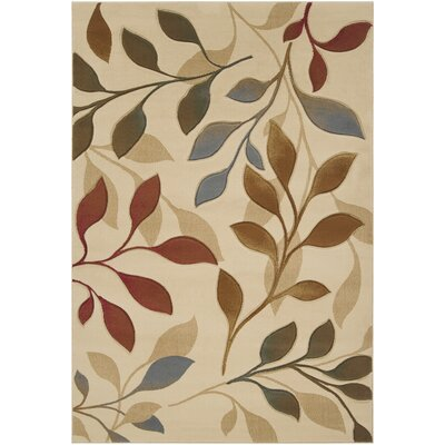 Marelle Ivory Area Rug Rug Size: Rectangle 53 x 73