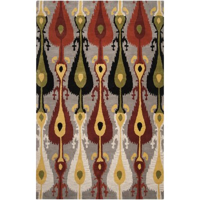 Romulus Multi-colored Area Rug Rug Size: 33 x 53