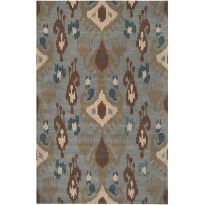 Bremner Multi-colored Area Rug Rug Size: Rectangle 5 x 8