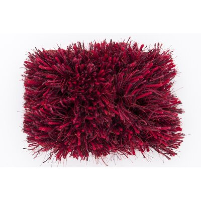 Halpern Red Burgundy Plum Rug Rug Size: Rectangle 5 x 8