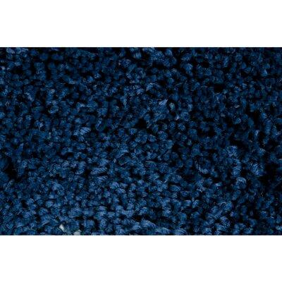 Hallum Hand-Woven Sapphire Blue Area Rug