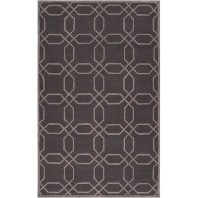 Keaton Brown Area Rug Rug Size: 8 x 11