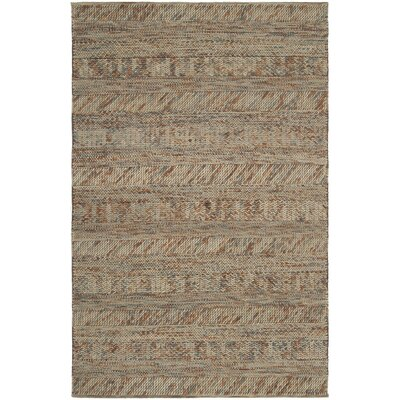Shelton Hand Woven Wool Tan Area Rug Rug Size: Rectangle 2 x 3