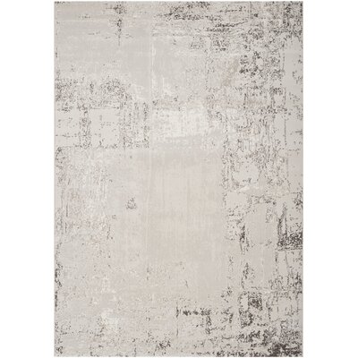 Laporte Taupe Area Rug Rug Size: Rectangle 53 x 73