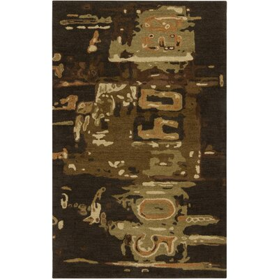 Lisa Coffee Bean Rug Rug Size: Rectangle 9 x 13