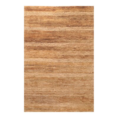 Rekha Hand-Woven Tan Rug Rug Size: Rectangle 2 x 3