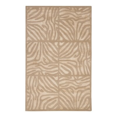 Wexler Hand Tufted Wool Beige/Taupe Area Rug Rug Size: Rectangle 9 x 13