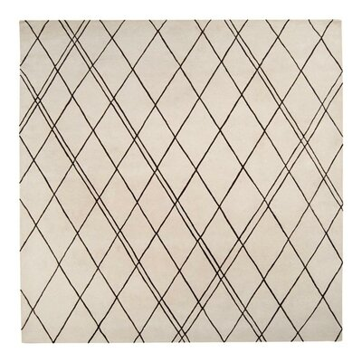 Starkey Beige/Brown Rug Rug Size: Square 8'