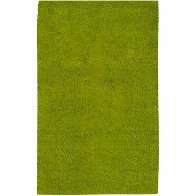 Bonney Lime Green Area Rug Rug Size: 36 x 56