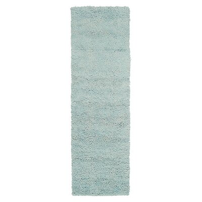 Bonney Spa Blue Area Rug Rug Size: Round 8