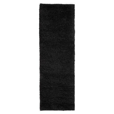 Bonney Black Area Rug Rug Size: Runner 4 x 10