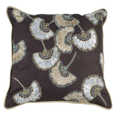 Dazzling Dandelion Throw Pillow Size: 18 x 18, Fill Material: Down