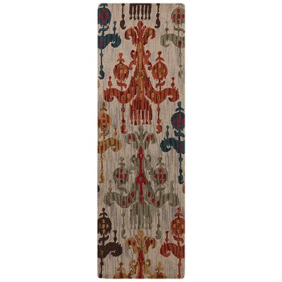 Orson Safari Tan Rug Rug Size: Runner 2'6