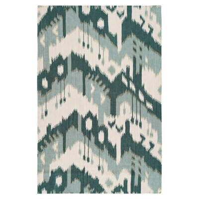 Cerrone Peacock Green/Blue Haze Rug Rug Size: Rectangle 5 x 8