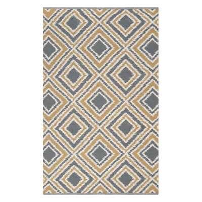 Halycon Hand-Woven Wool Pewter/Cumin Area Rug Rug Size: Rectangle 2 x 3