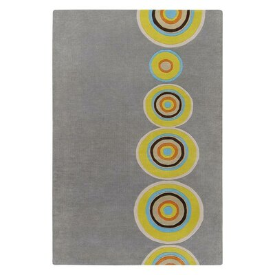 Mattox Gray Area Rug Rug Size: Rectangle 2 x 3