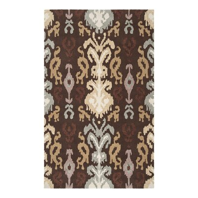 Aime Hot Cocoa Area Rug Rug Size: Rectangle 8 x 10