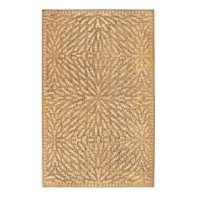 Byrne Gold Area Rug Rug Size: Rectangle 9 x 13