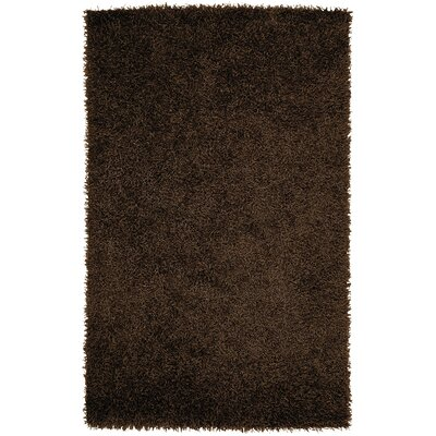 Bonomo Chocolate Area Rug Rug Size: Rectangle 5 x 8