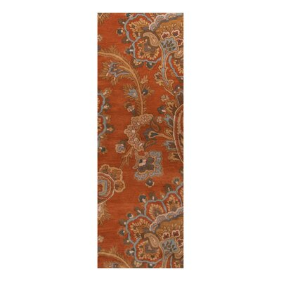 Busch Copper Penny Hand-Woven Rug Rug Size: Runner 26 x 8