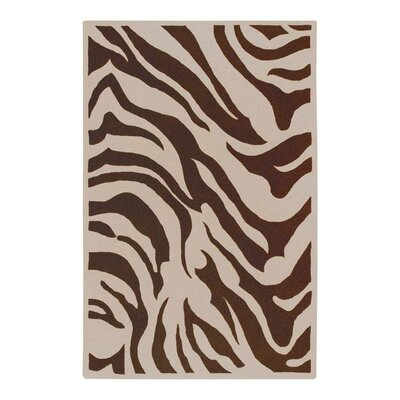 Akiva Zebra Print Area Rug Rug Size: Rectangle 8 x 11