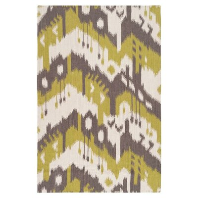 Cerrone Wenge/Wasabi Rug Rug Size: Rectangle 36 x 56