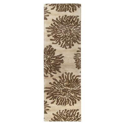 Parson Camel Area Rug Rug Size: Runner 26 x 8