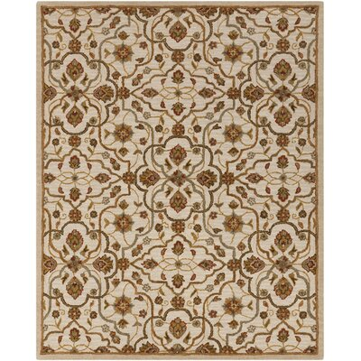 Burwood Parchment Rug Rug Size: Rectangle 5 x 8