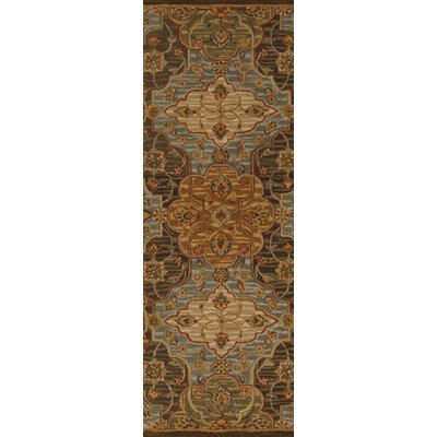 Burwood Fatigue Green Rug Rug Size: Runner 26 x 8