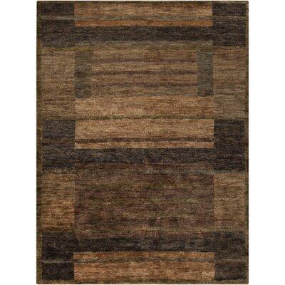 Scarborough Beige & Brown Rug Rug Size: 8' x 11'