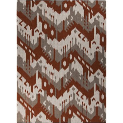 Double Mountain Adobe & Brindle Area Rug Rug Size: 8 x 11