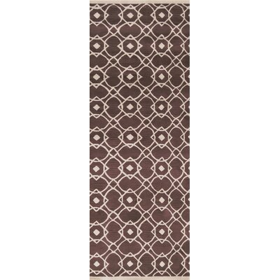 Quenton Mauve Area Rug Rug Size: Runner 26 x 8
