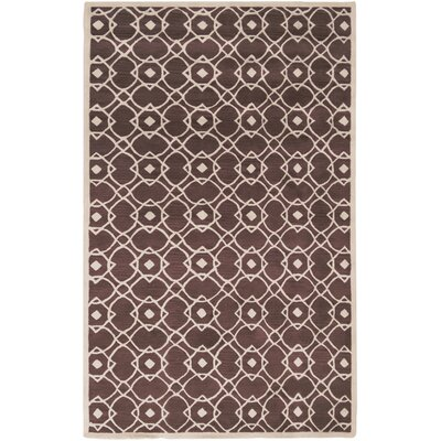 Quenton Mauve Area Rug Rug Size: Rectangle 33 x 53