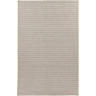 Cedar Feather Gray/Cobble Stone Striped Rug Rug Size: Rectangle 5 x 8