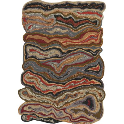 Ramsay Woven Brown Area Rug Rug Size: Rectangle 33 x 53