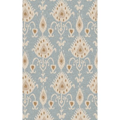 Romulus Hand-Tufted Gray/Beige Area Rug Rug Size: Rectangle 5 x 8