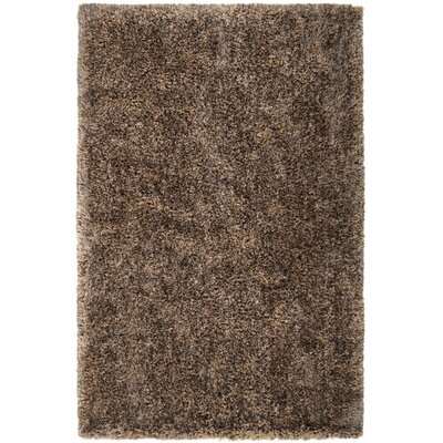 Crofoot Brown Rug Rug Size: Rectangle 2' x 3'