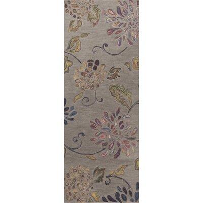 Gilfoyle Mossy Stone Area Rug Rug Size: Runner 26 x 8