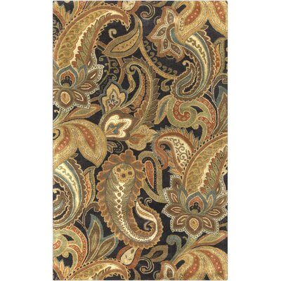Blanche Dark Goldenrod Area Rug Rug Size: Rectangle 2 x 3