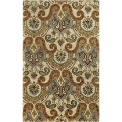 Blanche Tan Area Rug Rug Size: Rectangle 33 x 53