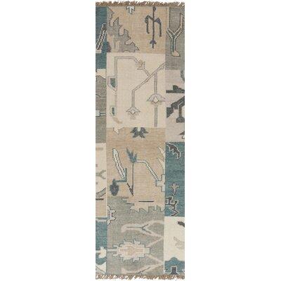 Burnard Blue Haze Rug Rug Size: Runner 26 x 8