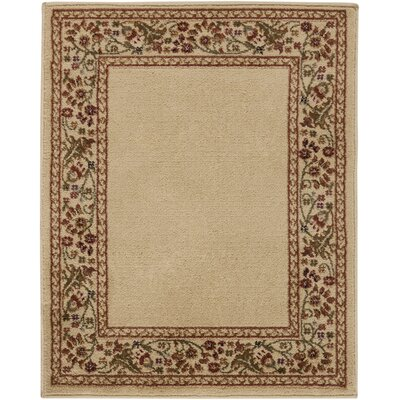Arbus Green/Golden Brown Rug Rug Size: Rectangle 22 x 33