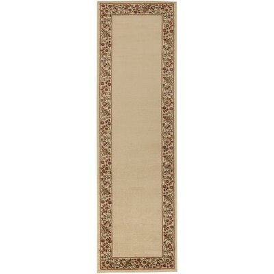 Arbus Green/Golden Brown Rug Rug Size: Runner 22 x 76