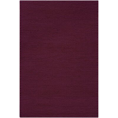 Jaxton Deep Purple Area Rug Rug Size: Rectangle 8 x 10