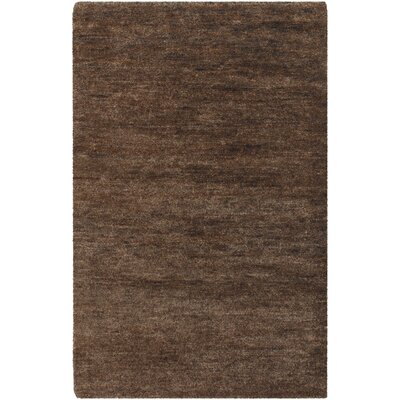 Casperson Coffee Bean Brown Area Rug Rug Size: 5 x 8