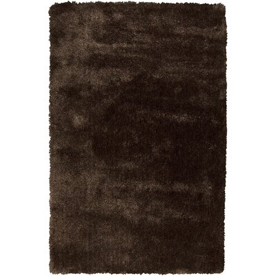 Kimber Dark Chocolate Area Rug Rug Size: Rectangle 2 x 3