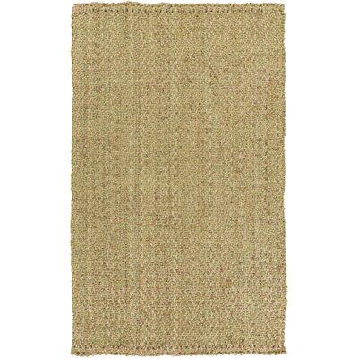 Jaidan Hand-Woven Tan Area Rug Rug Size: Rectangle 2 x 3