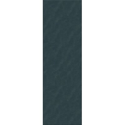 Griffith Teal Blue Area Rug Rug Size: Runner 26 x 8
