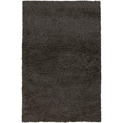 Treasa Charcoal Gray Rug Rug Size: 5 x 8